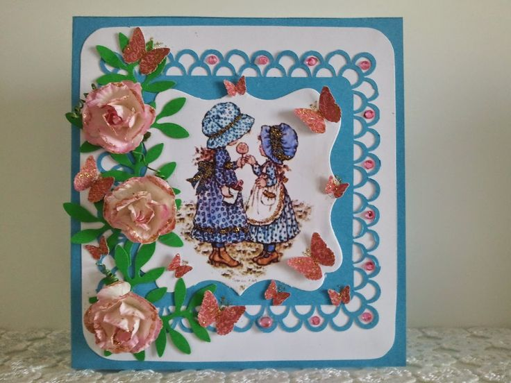 hobby e passioni racchiusi nel mio cassetto: Sarah Kay Stamp biglietto di auguri - Sarah Kay Stamp greeting card