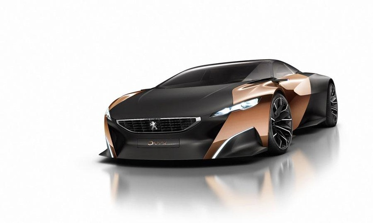 The Peugeot Onyx concept will debut at the Paris motor show.
