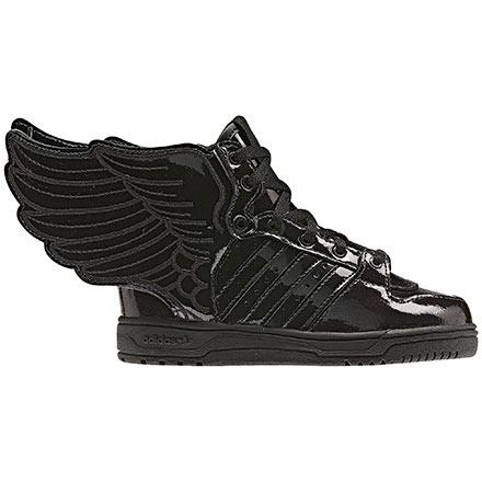 boys * shoes: adidas Kinder JS Wings 2.0 Lederschuh (METALLIC GOLD) - entdeckt durch www.modenavigator.de
