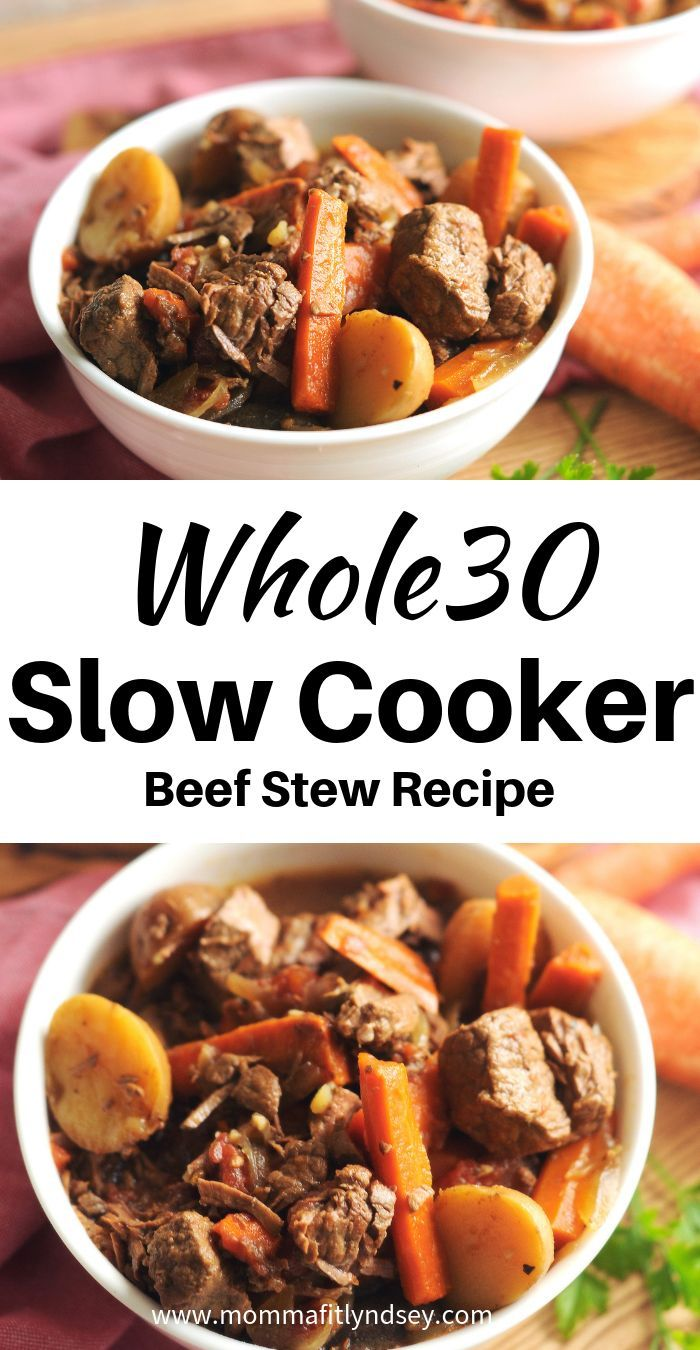 Entire30 Crockpot Beef Stew