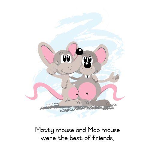 Meet Matty and Moo - best friends!