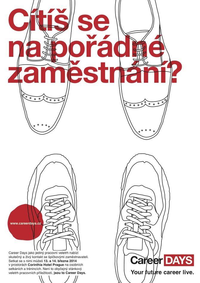 Career Days Campaign Step #2 design: Štěpán Klíma