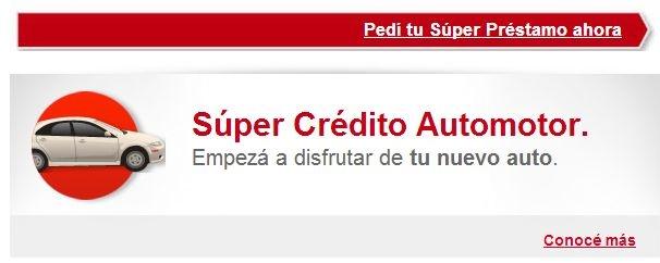 Crédito Automotor Créditos