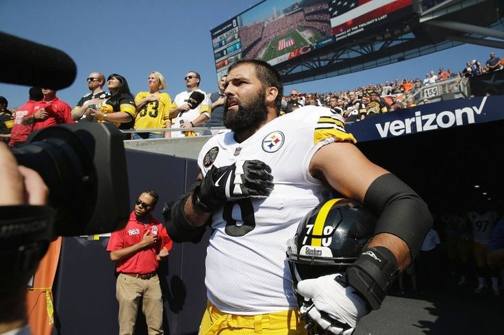 Army veteran Alejandro Villanueva is sole Steelers player to stand outside for national anthem   Fox News