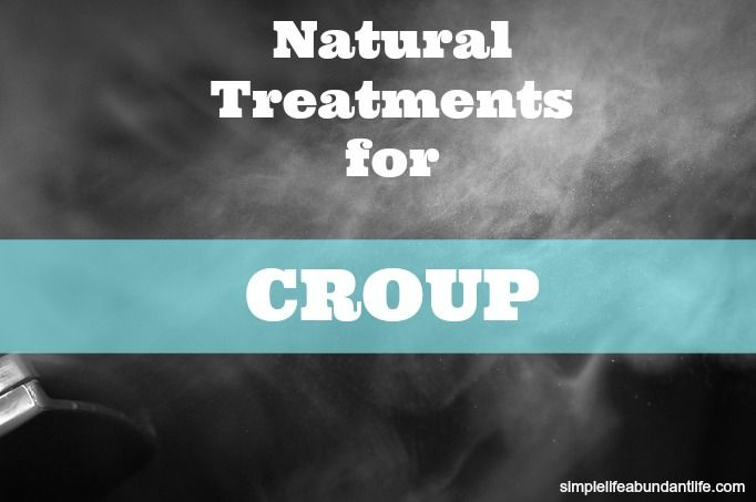 Natural Treatments for Croup : I wish I had this a few nights ago! we seem to have calmed the worst down, but this will be handy moving forward.