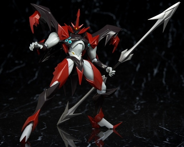Max Factory Figma Evil Tekkaman Review by Hacchaka | GundamModelKits.com