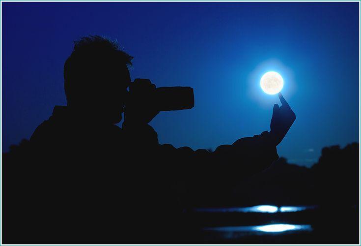 как сделать красивые фотографии Луны