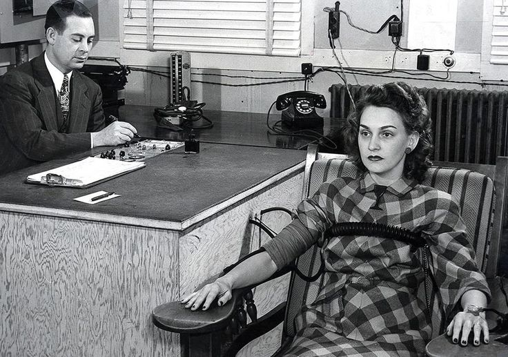 Barred from use in U.S. court, lie detectors are still used today in other parts of the legal system