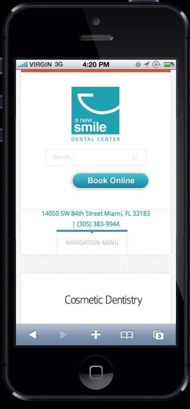 A New Smile Dental Center | +1 305-383-9944 | Mobile Friendly Dentist