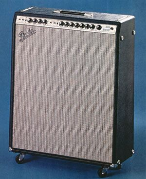 vintage fender catalogue | The Quad Reverb as displayed in the 1972 Fender catalogue