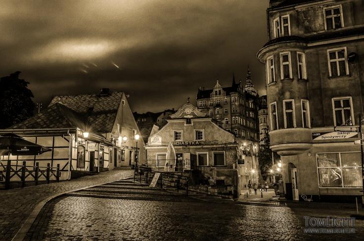Grottgera street, Kłodzko, Poland