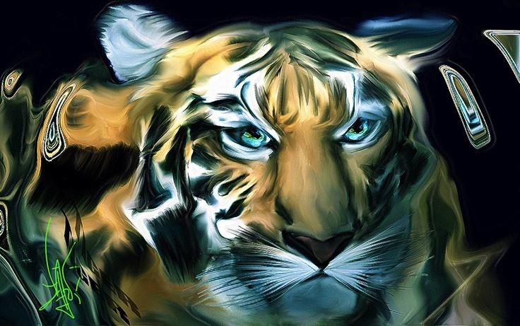 """""""Tiger"""" 2011 by Diego Valdez"""