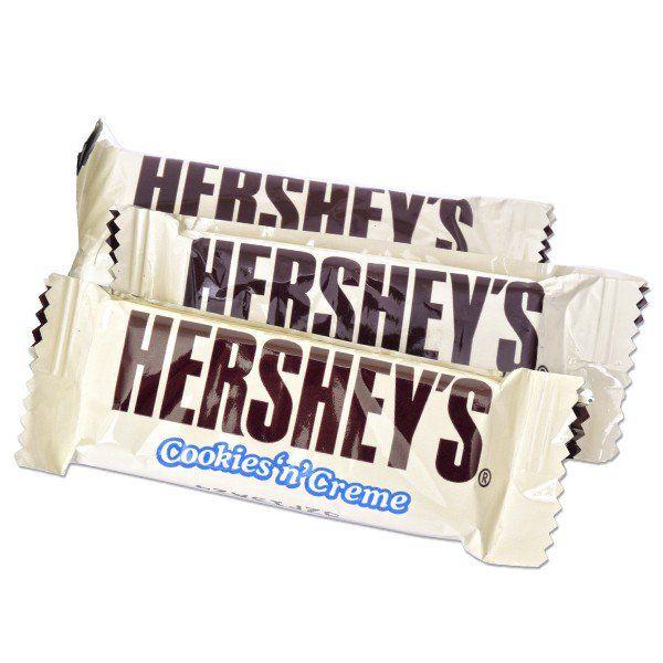 Hershey bar cookies and cream