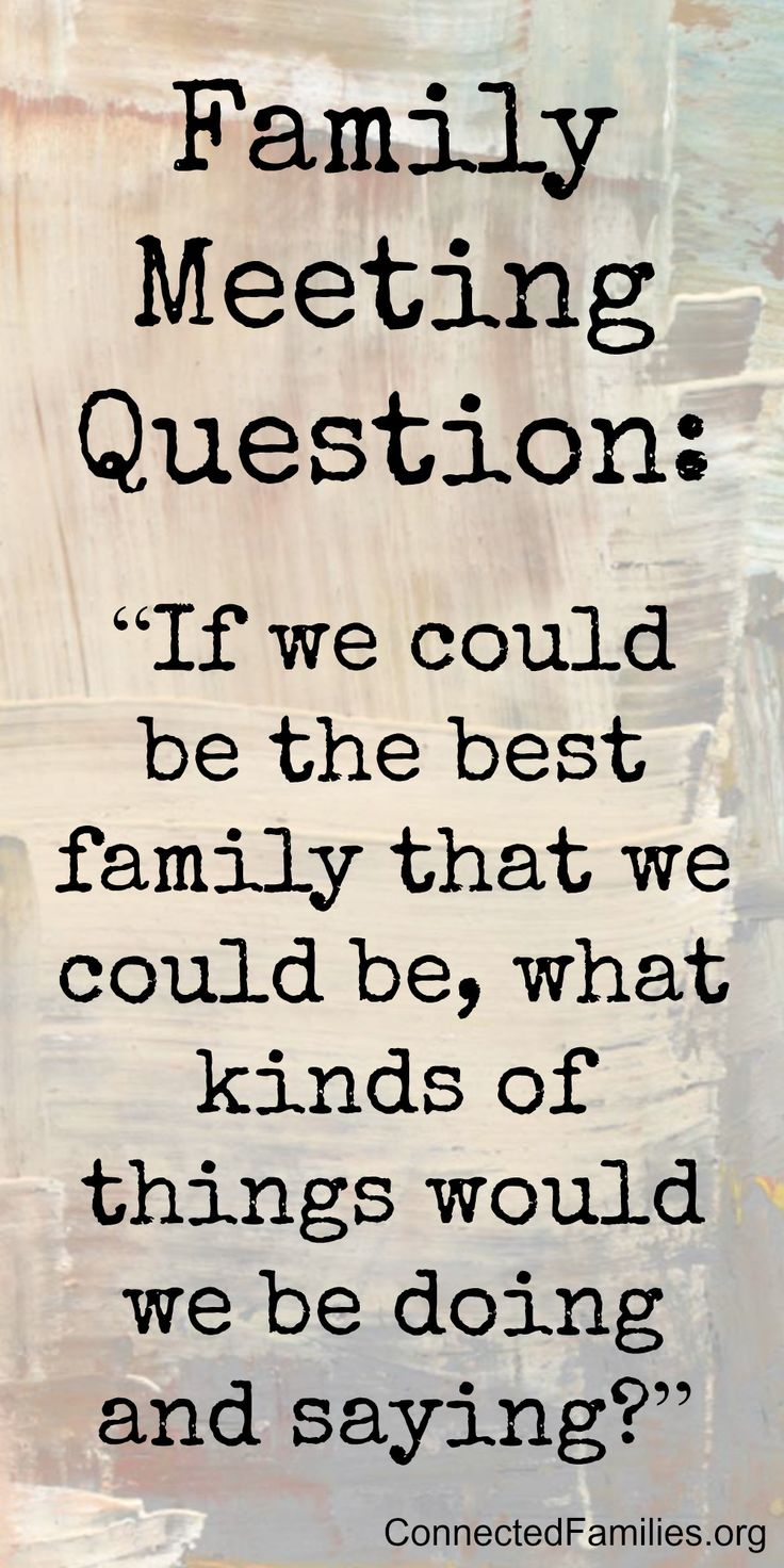 Family worship i love this question for family meeting Gives us family goals for a week