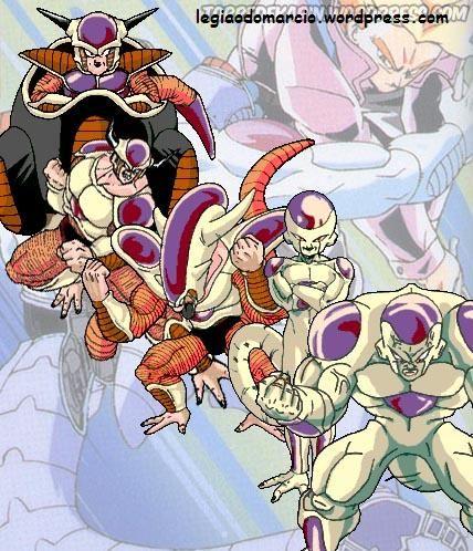 Dragon Ball Z - Transformações de Freeza