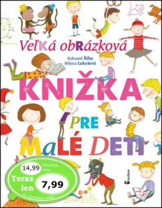 Veľká obrázková knižka pre malé deti