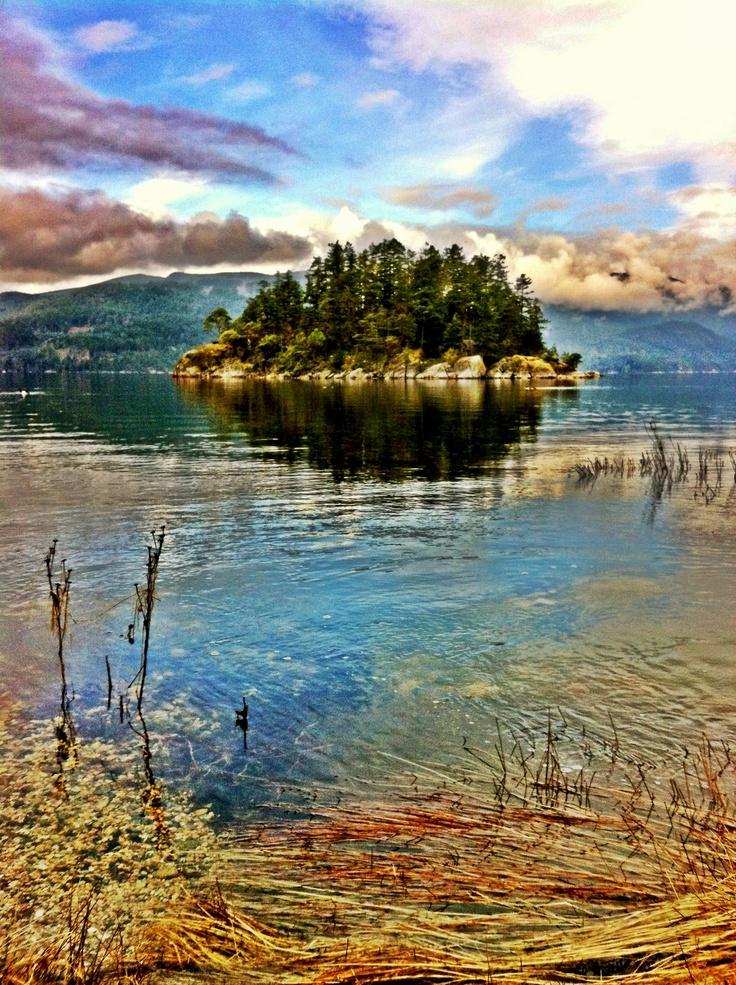 Tuwanek on the Sunshine Coast of BC