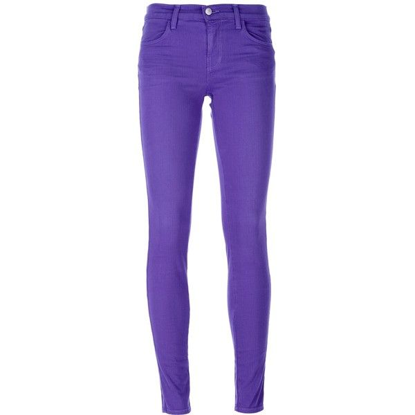 J BRAND skinny jean (220 CAD) ❤ liked on Polyvore featuring jeans, pants, bottoms, pantalones, calças, cut skinny jeans, skinny fit jeans, super skinny jeans, j brand and denim skinny jeans