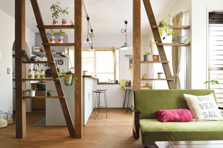 陽のあたるコンパクトリビング(一戸建て):リフォーム事例。自然素材の住まいやロハスな住宅リフォーム、マンションリフォームを提供
