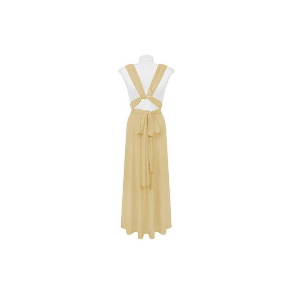 Beige Infinite Ways Dress via Polyvore featuring dresses, spandex dresses, going out dresses, night out dresses, lycra dress and tube dress