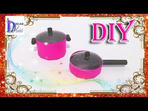 Как сделать Кухонные аксессуары для кукол (ложки, вилки, ножи, половник и прочее). DIY. - YouTube