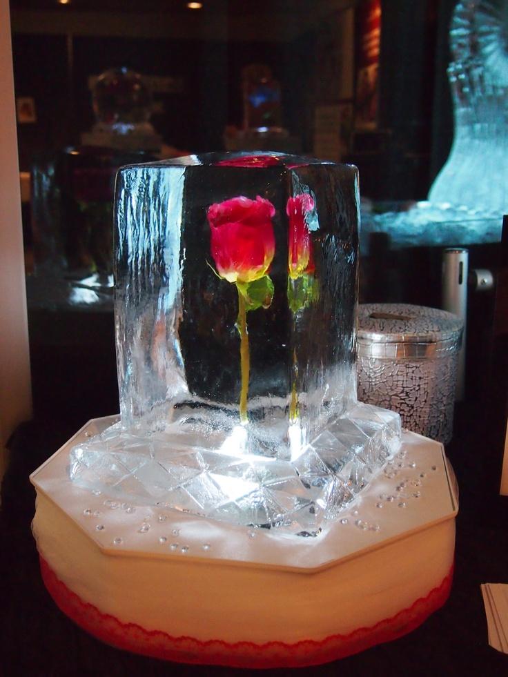 Wedding table centerpeice ice sculpture quot aphrodite s