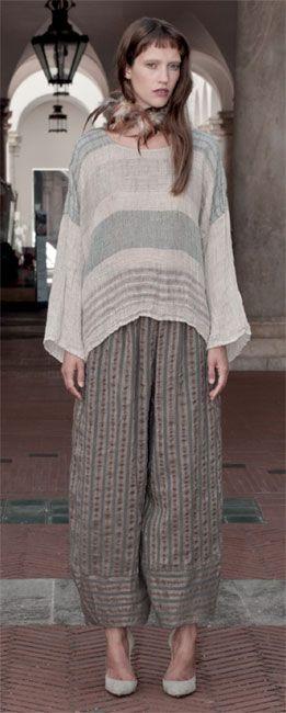 Importante – importing unique fashion from Italy » La Bottega di Brunella 2013. Love these pants!