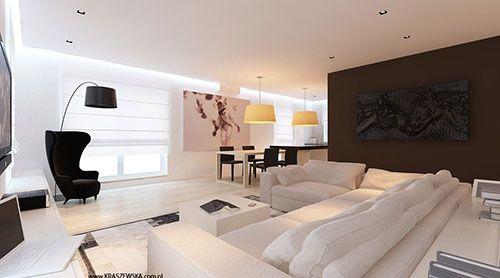 Licht woonkamer ontwerp van Katarzyna Kraszewska   Interieur inrichting