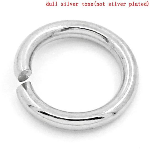 7mm 16 Gauge Stainless Steel Jump Ring Jewelry Making Finding Beading Supplies