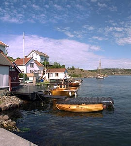Sandøya island, summer paradise!