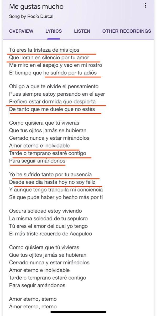 Amor Eterno Rocío Dúrcal