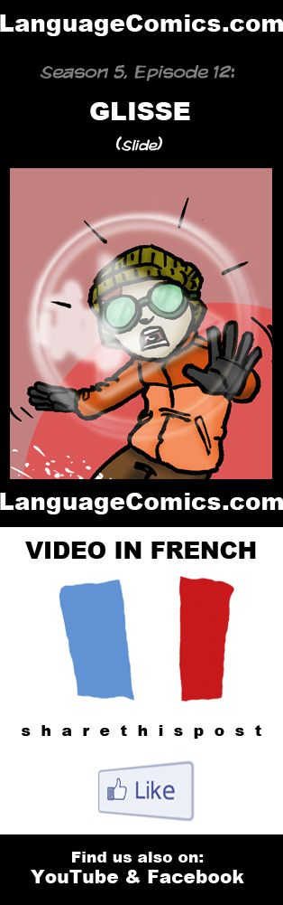 Practice your pronunciation and learn #French with this episode and many more. Enjoy and share!  https://www.youtube.com/watch?v=vAsnY4KUXjw  ---------------------------------------------  Also find us on http://www.Facebook.com/LanguageComics - - -  http://www.YouTube.com/LanguageComicsTeam - - - http://www.Instagram.com/LanguageComics_