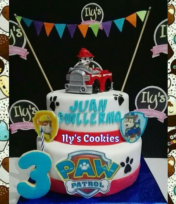 Torta Paw Patrol. Paw Patrol Cakes *•.¸♥♥¸.•*Ily´s Cookies*•.¸♥♥¸.•*