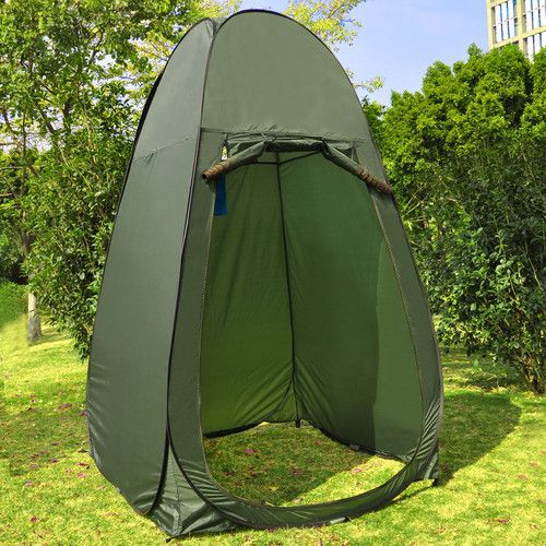 Portable Shelters Pop Up : Portable changing tent camping shower toilet pop up room