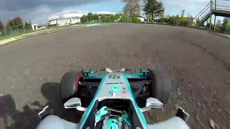 RC F1 ONBOARD CAMERA 44 Mercedes W05 Nico Rosberg on track