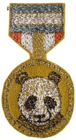 panda medal by coral & tusk