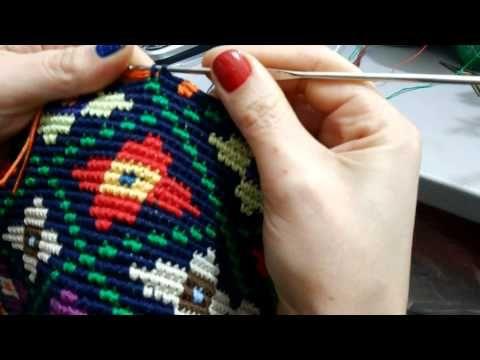 Bolsa inspirada no modelo Wayuu - YouTube ༺✿ƬⱤღ✿༻