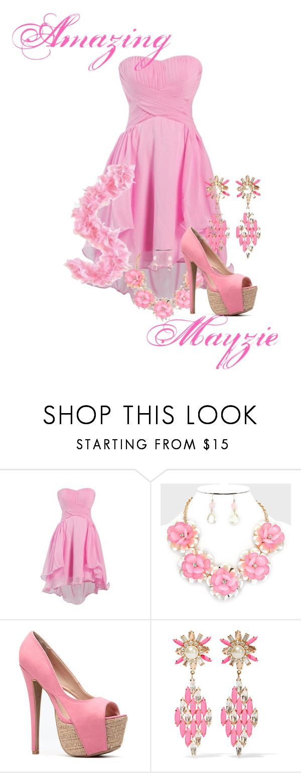 """Amazing Mayzie~ Seussical the Musical"" by ava-adams123 ❤ liked on Polyvore featuring Mode und SHOUROUK"