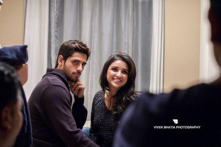 Parineeti Chopra and Sidharth Malhotra. I love them together!
