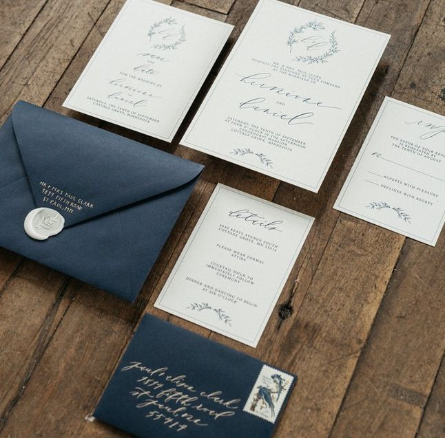 7 best wedding invitations images on Pinterest