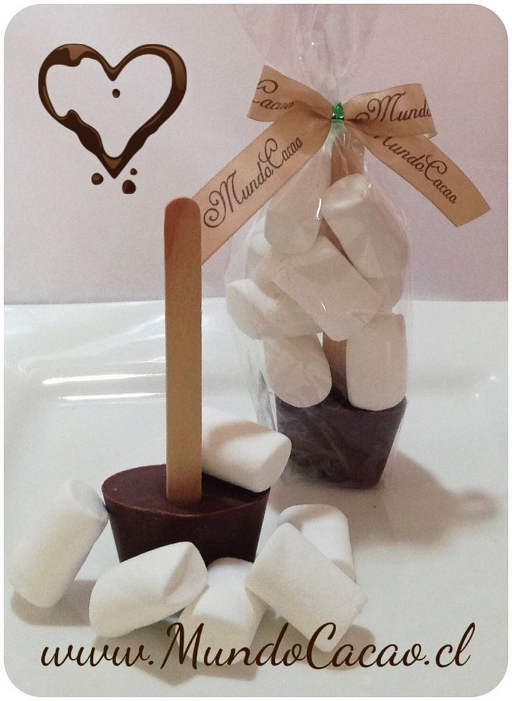 Revolvedor para chocolate caliente con marshmallow, todo sin azúcar.