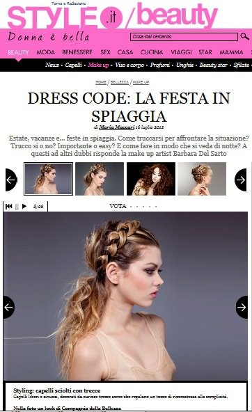 Compagnia della Bellezza is on #Style to introduce new summer #hairstyles!