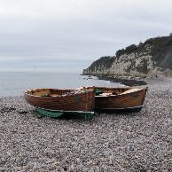 Beer Boats, self drive boat hire on Beer Beach, great value, catch your own Mackeral
