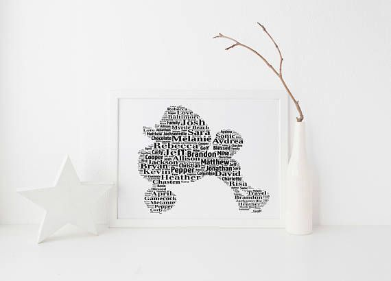 Poodle Dog Custom Print FREE UK Postage Custom Pet Portrait