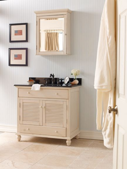 foremost cottage 36 in w x 34 in vanity cabinet only in antique white at the home depot mobile - Foremost Vanity