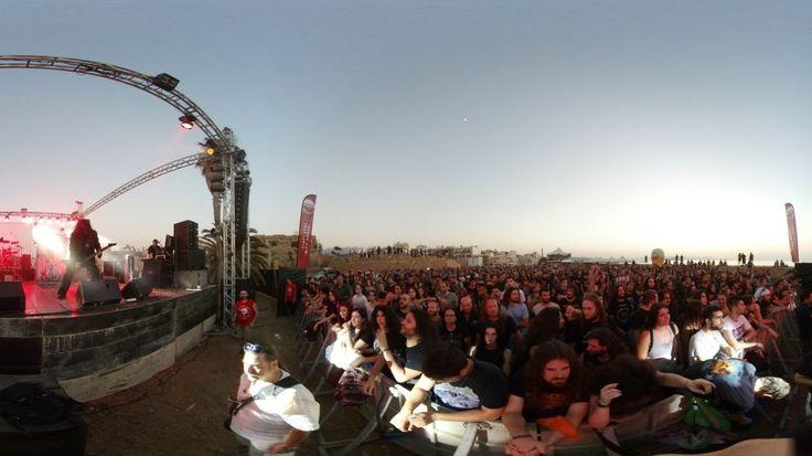 Εικονική πλοήγηση στο μεγαλύτερο ροκ φεστιβάλ