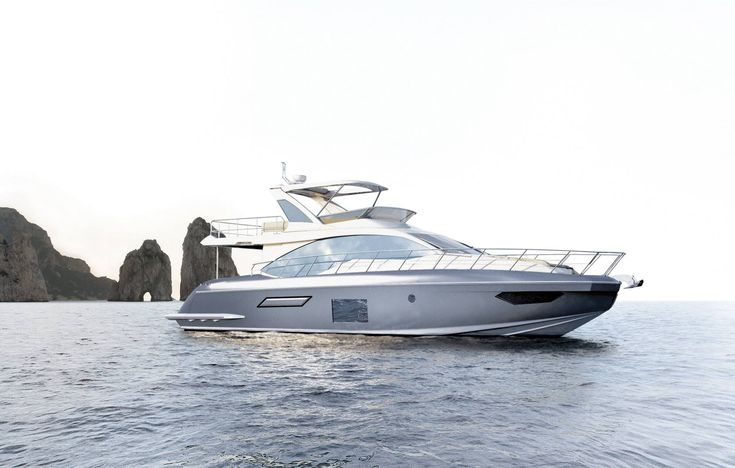 Your all New #Azimut55 - An oasis of well-being.  She will make its world debut at the boot Düsseldorf. Prepare to be enchanted by her chic attitude!  She is a yacht that makes an important style statement and was born of a challenge: the desire to combine a silhouette defined by sleek and dynamic lines, with a warm, cosy alcove inside.  @AzimutYachtsHK #Azimut #germany  #hongkong  #Boatshow