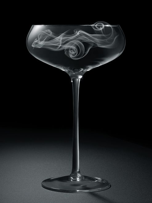 Liquid Smoke. Between molecular mixology, mezcal and scotch, vapor seeps into cocktail glasses. Recipes seen in the LATimes magazine.