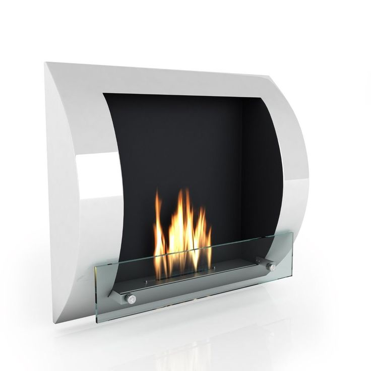 Chimenea de bioetanol - de Imagin Modelo  Fuego  - Color Blanco
