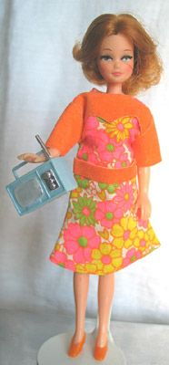 Palitoy pippa doll Geneva Collection - Orange Blossom